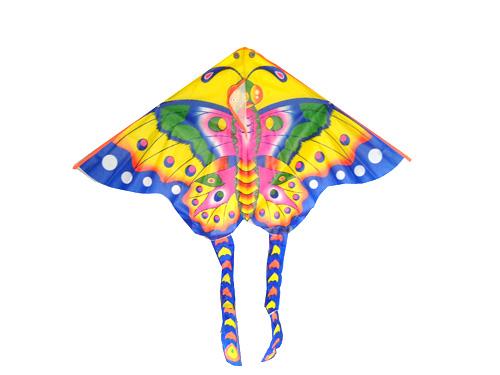 风筝创意图片分享; 三角形风筝上的图案