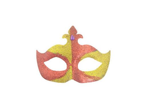 万圣节搞怪面具 蝴蝶形金粉