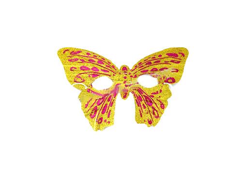 万圣节搞怪狂欢道具 蝴蝶面具