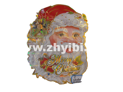 圣诞贴画 贴画 圣诞老人头像 35cm